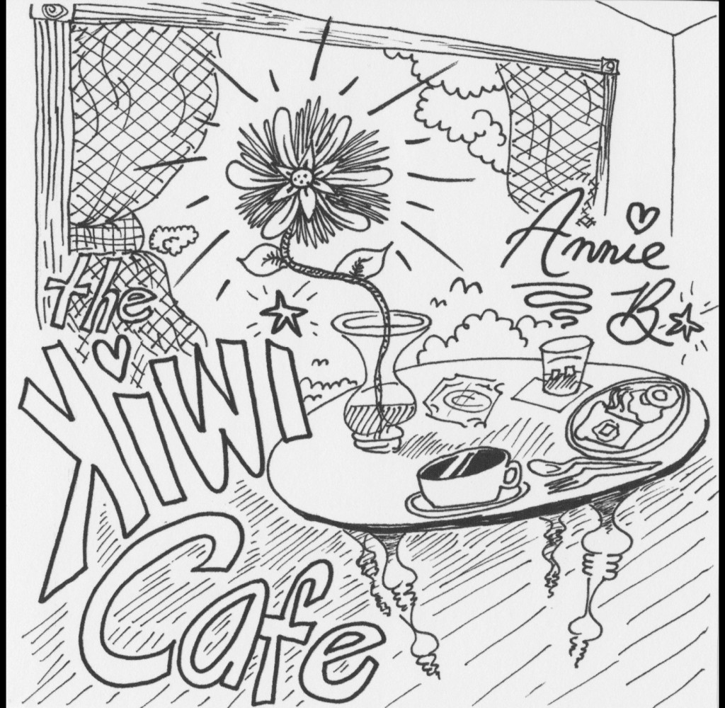 Annie B. (solo) – Kiwi Cafe album (hard copy)