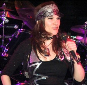 Annie as Axl Rose